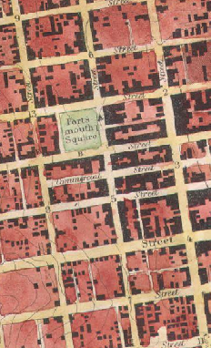Portsmouth Square 1853